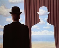 Magritte, la décalcomanie. 1966.